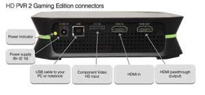 HD PVR back panel