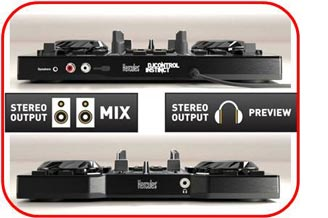 Hercules djcontrol instinct 2 channel dj controller - Table de mixage hercules dj control instinct ...