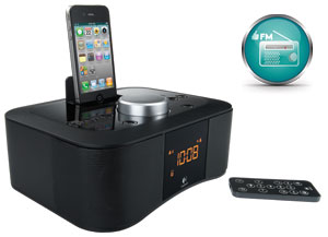 Built-in FM radio, wireless remote control