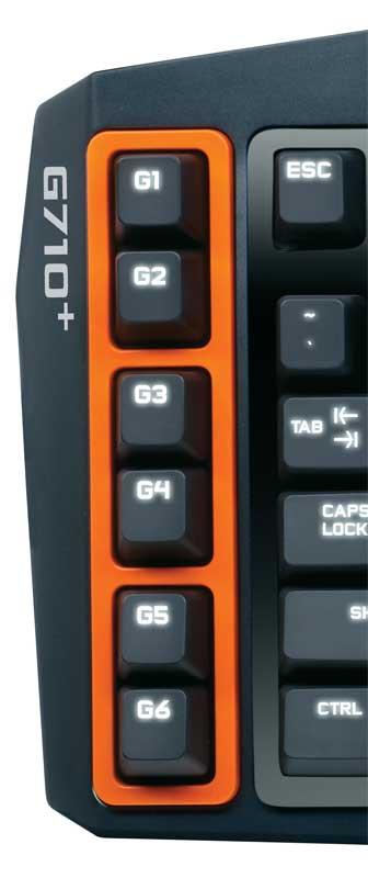 Mechanical Gaming Keyboard G710+