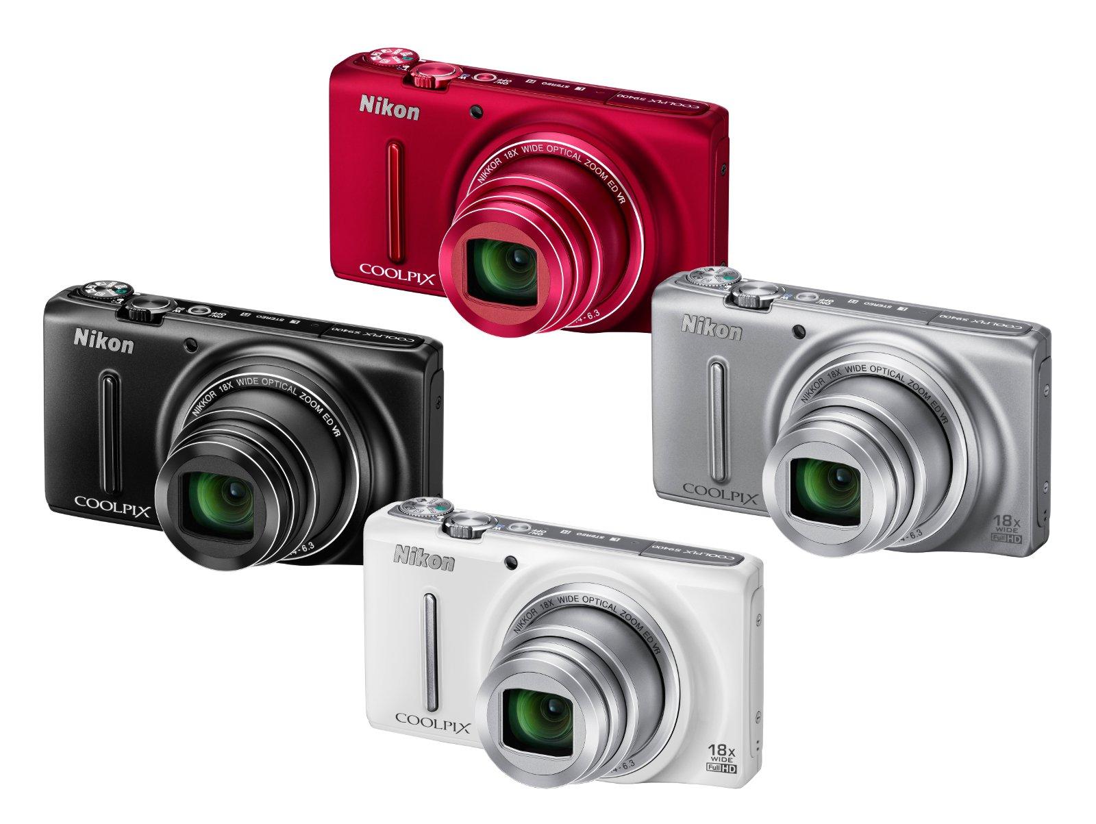 Nikon Coolpix S9400 Camera - Silver 3.0 inch OLED: Amazon.co.uk ...