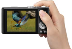 The incredibly fast focus speed is due to the double speed readout from the sensor