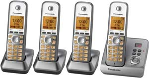 Place multiple handsets around the home