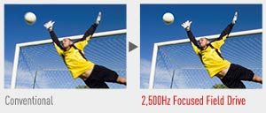 Plasma screens create each image thousands of times faster than LED LCD technology