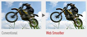 Conventional vs Web Smoother