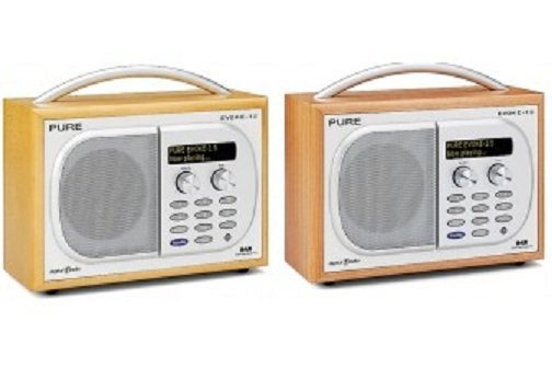 pure evoke 1s luxury portable dab fm radio cherry amazon co uk tv rh amazon co uk