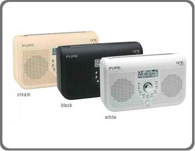 pure one elite dab fm radio cream tv. Black Bedroom Furniture Sets. Home Design Ideas