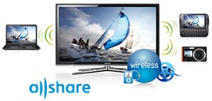 Transfer your videos, music and photos from your PC or mobile device wirelessly and effortlessly