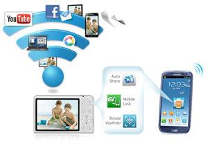 Wi-Fi Connectivity - Samsung SMART CAMERA app