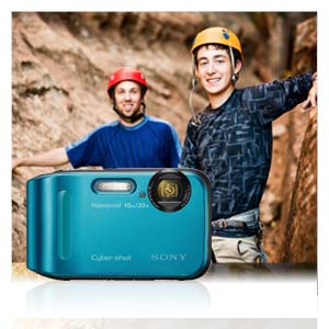 Go-anywhere camera built to resist water, dust, shocks and cold.
