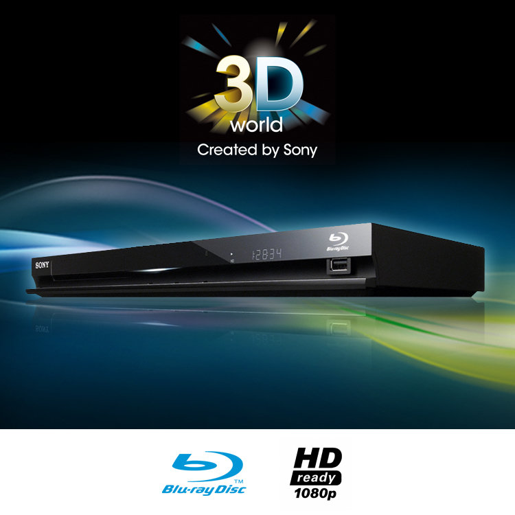 Sony BDPS470B 3D Ready Blu-ray Disc Player With Full HD