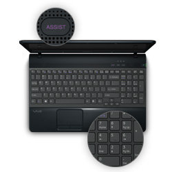 assist button sony vaio