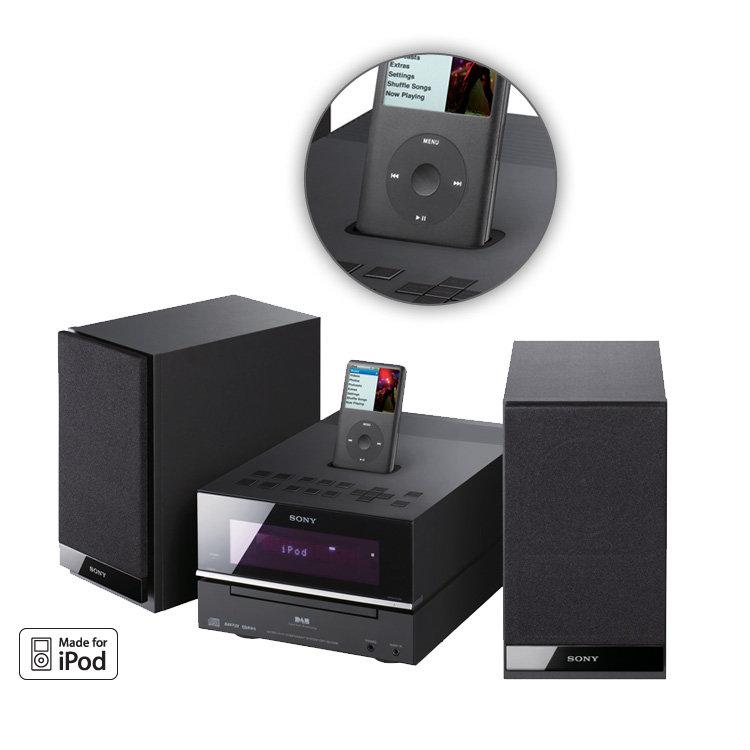 sony cmtbx77dbi mini hi fi with dab radio and ipod dock amazon co rh amazon co uk