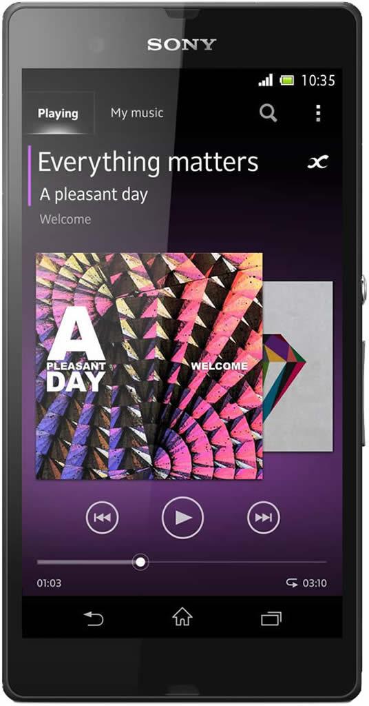 Sony Xperia Z - Smartphone Libre Android (Pantalla 5