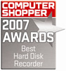 Computer Shopper 2007 Awards - Best Hard Disk Recorder