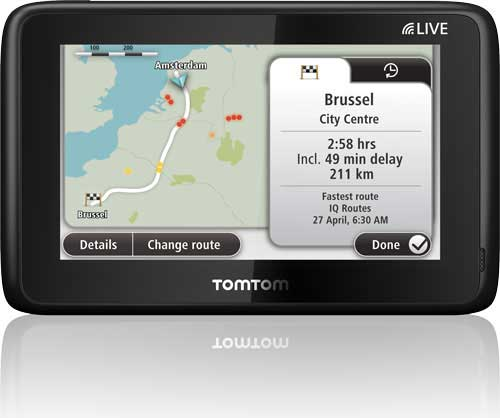 tomtom go live 1000 4 3 sat nav with europe maps 45 countries discountinued by manufacturer. Black Bedroom Furniture Sets. Home Design Ideas