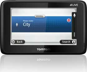 Advanced speech recognition technology lets you control your TomTom device using voice commands.
