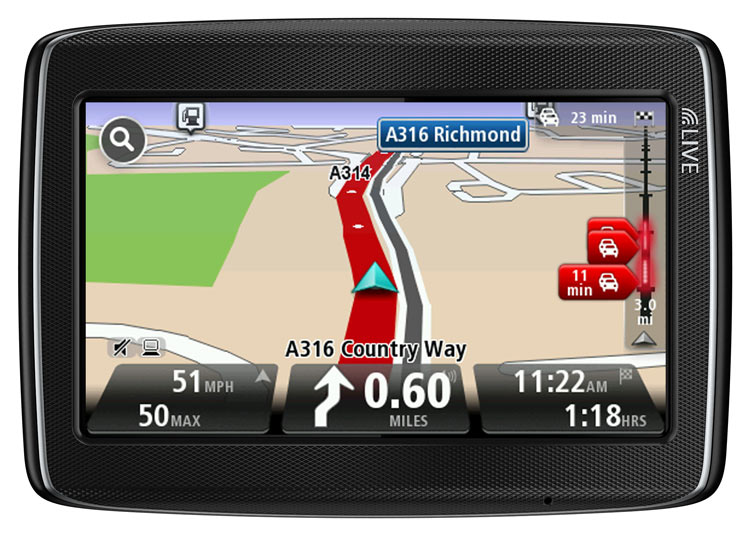 tomtom go live 820 4 3 sat nav with europe maps 45 countries electronics. Black Bedroom Furniture Sets. Home Design Ideas