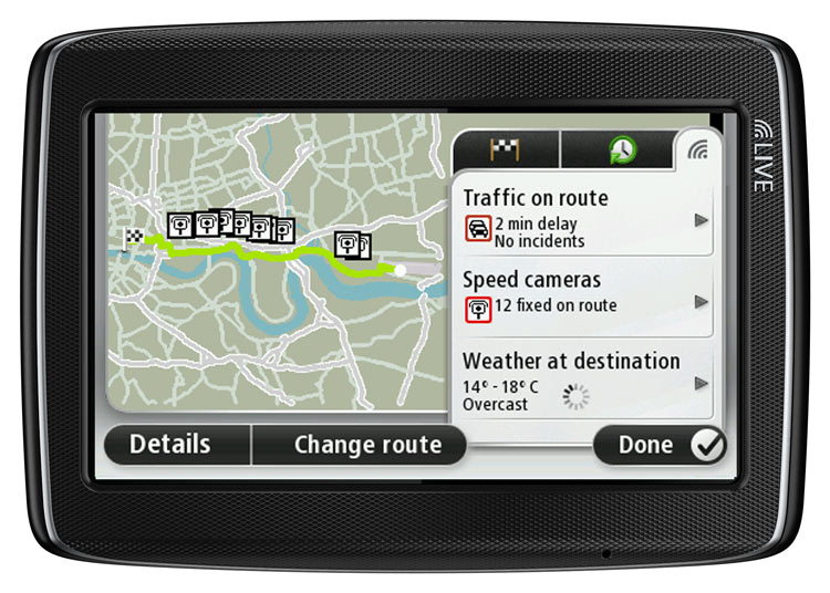 tomtom go live 825 5 sat nav with europe maps 45 countries discountinued by manufacturer. Black Bedroom Furniture Sets. Home Design Ideas