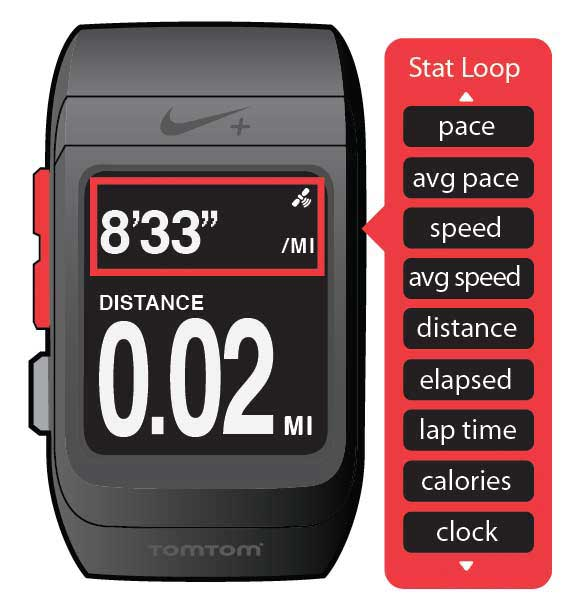 nike sportwatch gps powered by tomtom black anthracite electronics. Black Bedroom Furniture Sets. Home Design Ideas