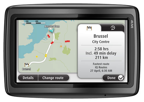 tomtom via live 120 4 3 sat nav uk ireland maps 1 year free live traffic services amazon. Black Bedroom Furniture Sets. Home Design Ideas