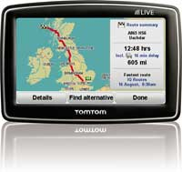 TomTom's IQ Routes™ provides you with the fastest route any time of day.
