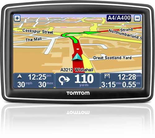 TomTom XXL Classic Sat Nav With Western Europe Maps - Us maps for tomtom