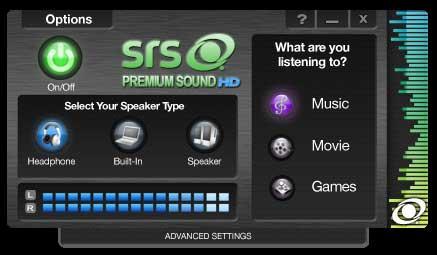 Dell srs premium sound driver download.