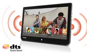 DTS Studio Sound and 13.3-inch HD IPS touch display