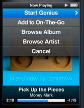 iPod Nano with Genius functionality