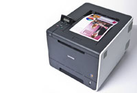 High speed network-ready colour laser printer