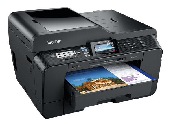 Brother MFCJ6910DW A3 Colour Inkjet Multifunction Printer