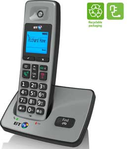The stylish BT2000 phone is energy efficient and also comes with recyclable packaging
