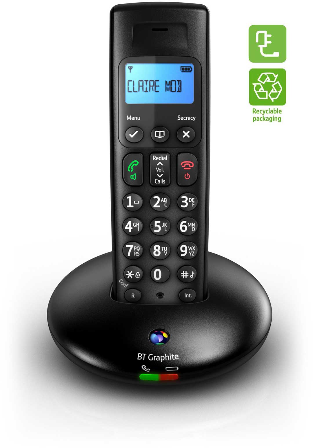 B Graphite 2100 win D Digital ordless Phone: mazon.co.uk ... - ^