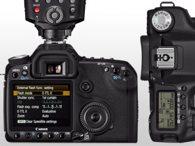 The new menu layout and ergonomic control dial makes using the EOS 50D a breeze