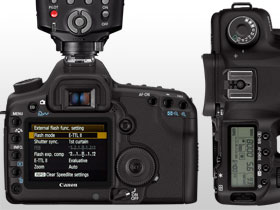 The new menu layout and ergonomic controls make using the EOS 5D MkII a breeze.