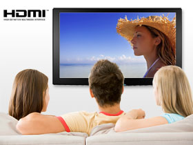 Connect to your HD television using the HDMI cable for instant HD playback.