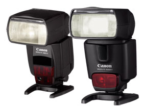 The PowerShot G11 is compatible with the Speedlite range of flashes