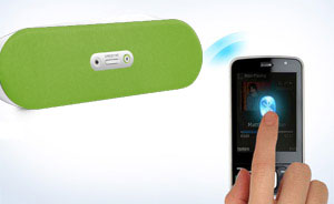 It's easy to stream music from any Bluetooth-enabled device, such as your mobile phone.