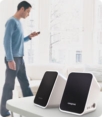 Stream your music wirelessly from your bluetooth enabled device