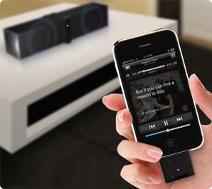 Easily connect your iPod or iPad to the ZiiSound