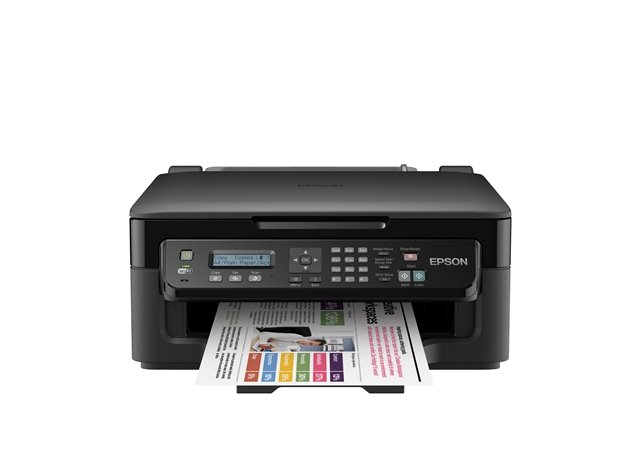 epson workforce wf 3520dwf 4 in 1 printer with double sided printing computers. Black Bedroom Furniture Sets. Home Design Ideas