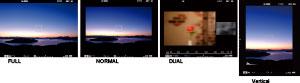 Visor de la Fujifilm X-T1