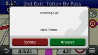 Make and receive calls via Bluetooth