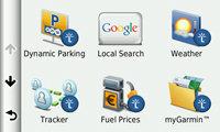 Get live services via Smartphone Link