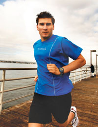 Forerunner110: Easy to wear and view while running