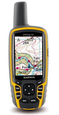 GPSMAP 62: Navigate with Ordnance Survey mapping