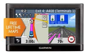 Garmin nuvi 42 up-to-date maps