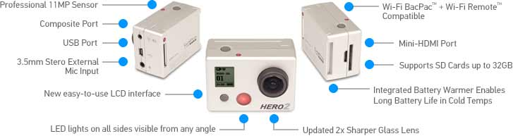 GoPro Camera HD Hero Outdoor dp BWYTI