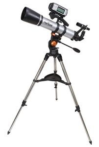 The device makes a great extra when attached to the popular Celestron SkyScout 90 Refractor Telescope